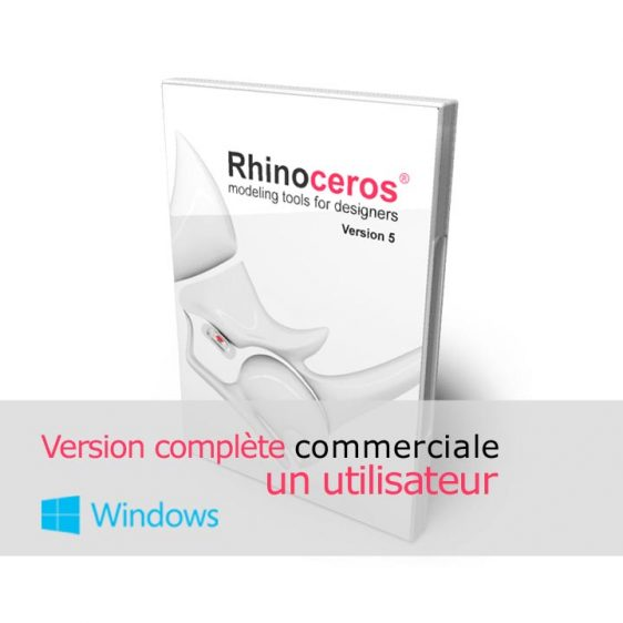 Rhino 3d v5 Commerciale Complete