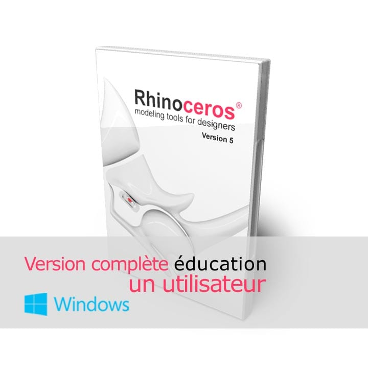 Rhino 3d v5 education Complete