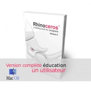 Rhino 3d v5 education Complete Mac